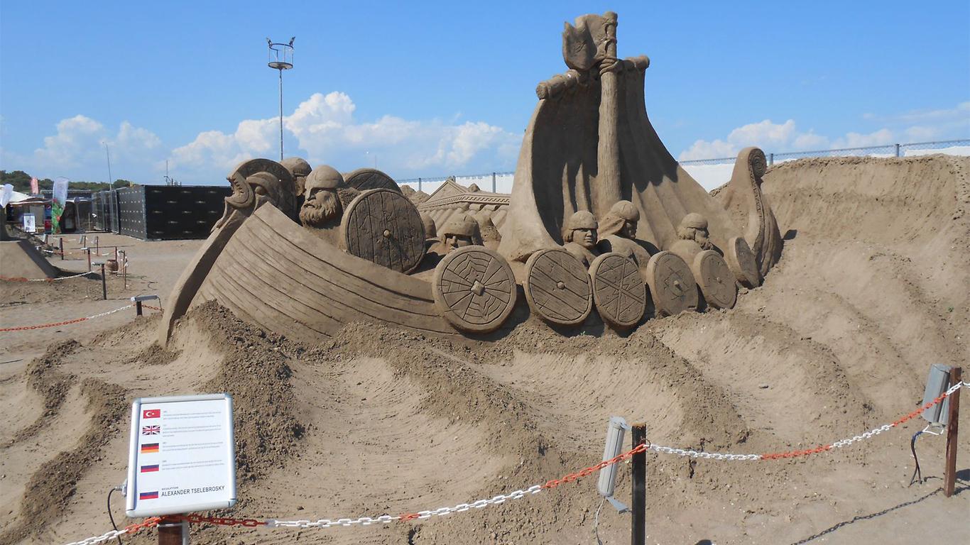 ارض-الرمال-انطاليا
